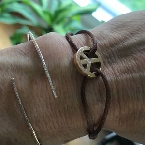 18K Rose gold and Diamond St Bart's peace …